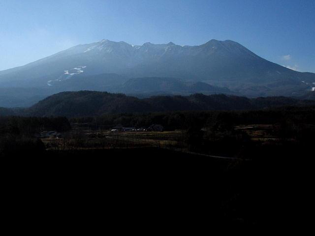 開田村から見た御嶽山♪