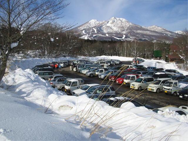 町営第2駐車場♪