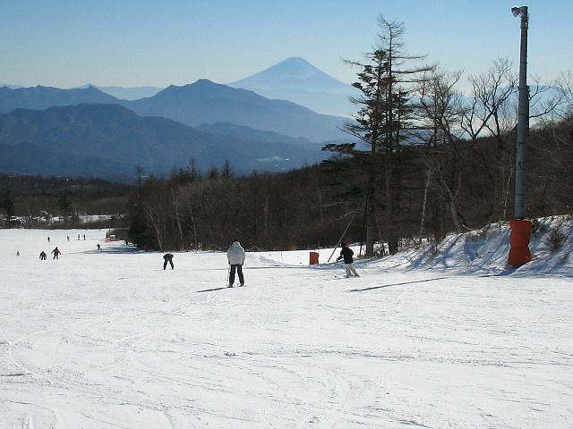 サンメドウズより富士山を見る♪