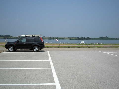 WNP河畔駐車場♪