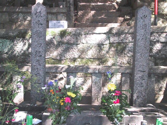 龍馬&慎太郎の墓