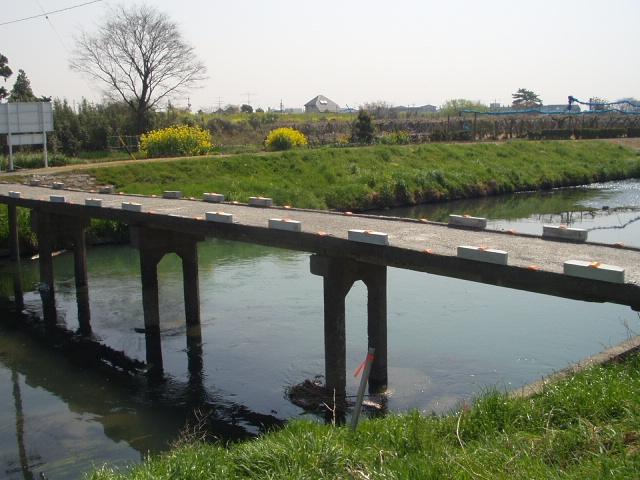 危ない橋♪(横方向より)