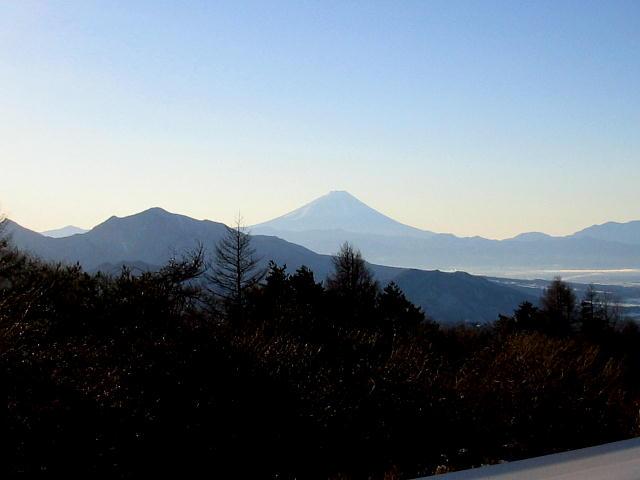 八ヶ岳高原ラインから見る富士山っ♪