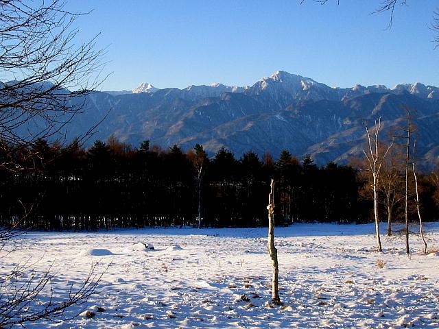 八ヶ岳高原ラインから見る南アルプスっ♪