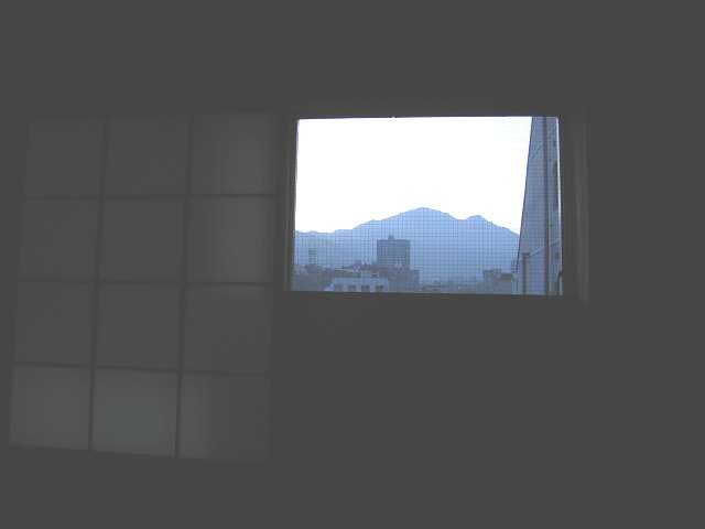 とっても開放感のある窓からの眺め(その1)♪