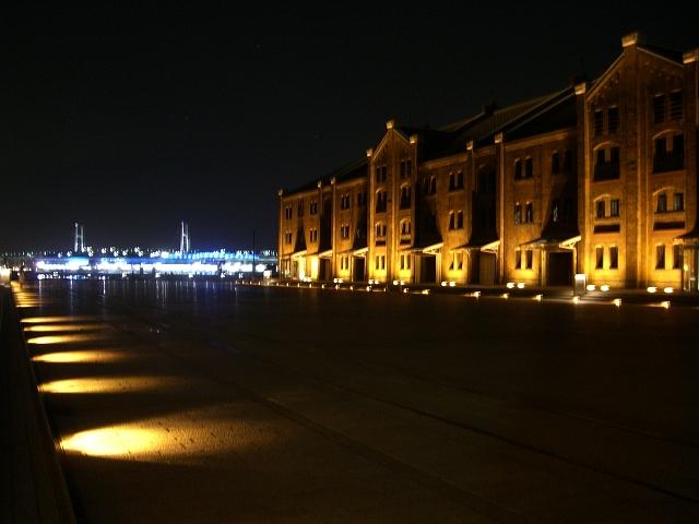 赤レンガ倉庫の夜♪