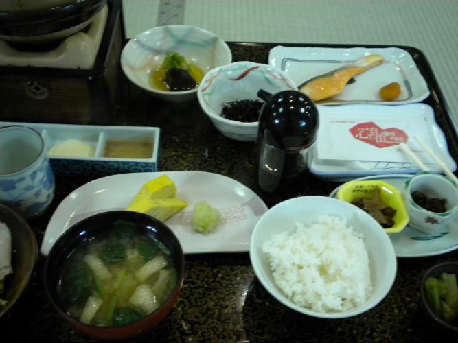 ボケた朝食(右サイド)♪