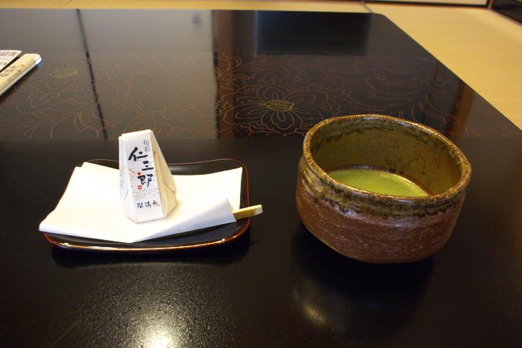 抹茶&お茶菓子♪