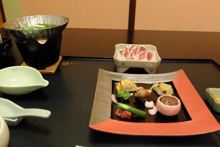 前菜と鍋物♪