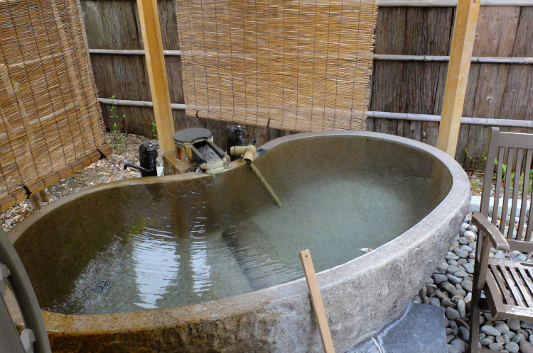 専用露天風呂♪