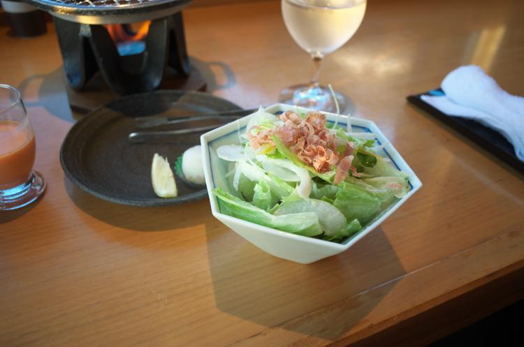 サラダの部♪