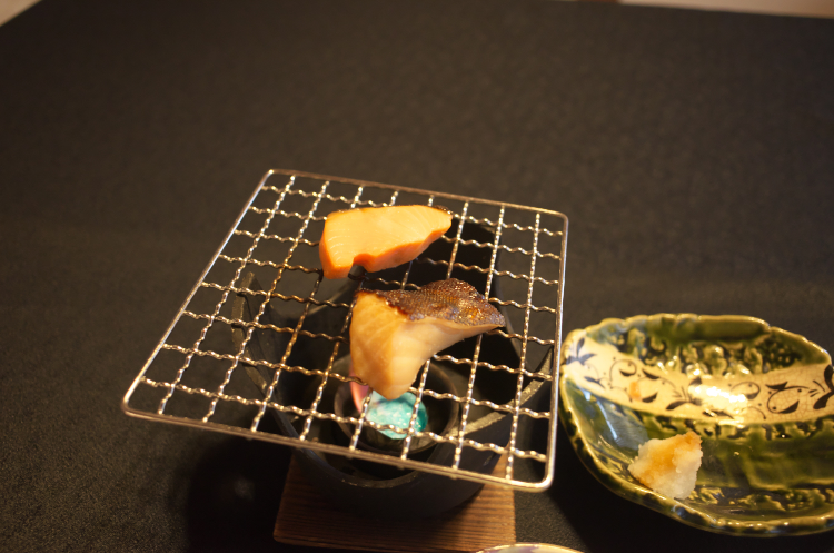 朝食 (焼き魚)♪