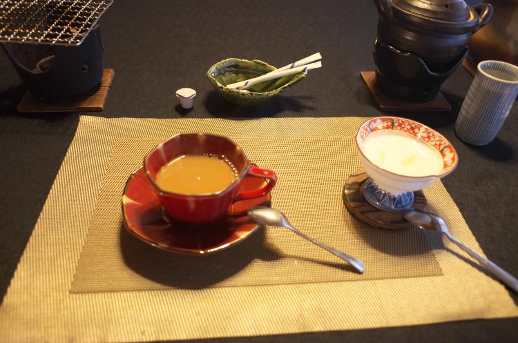 朝食 (珈琲&ヨーグルト)♪
