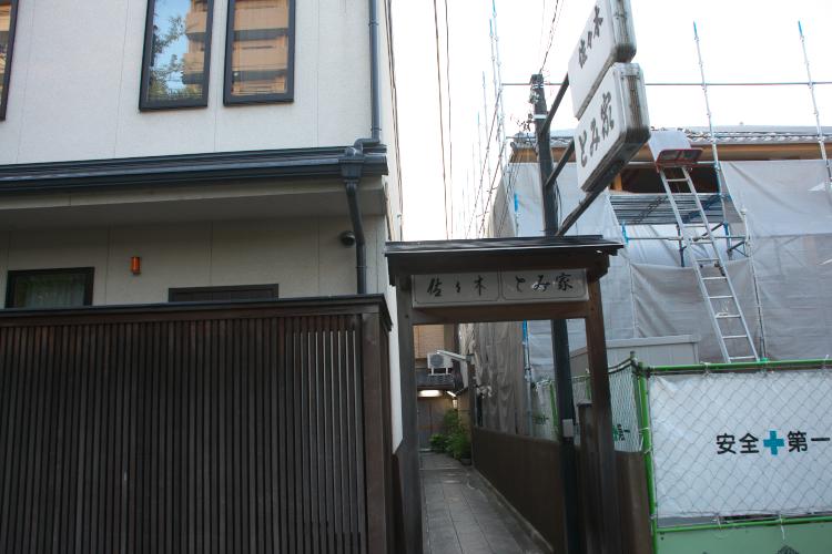 宿への入口♪