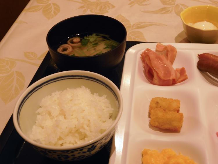 朝食(御飯&味噌汁)♪